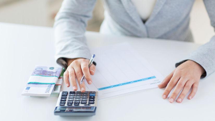 setrenie, peniaze, kalkulacka