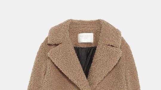 Kabát z falošnej ovčej kožušiny 2a2d35bf1f9
