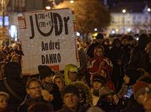 košice, protest