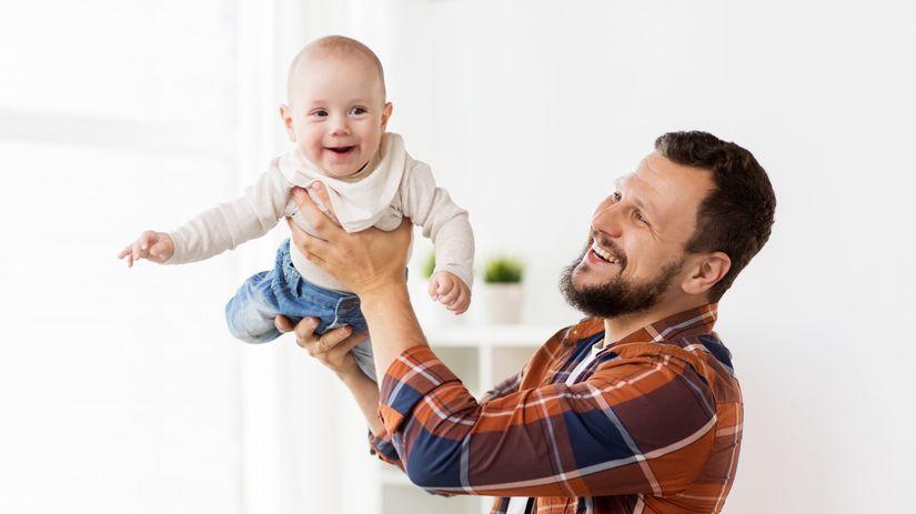 otec, tato, dieťa, materská dovolenka