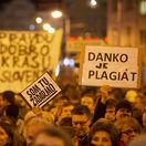 PROTEST: Za slušné Slovensko v Bratislave