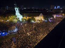 Tisícky ľudí žiadajú slušné Slovensko.