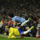 Anglicko futbal príprava Brazília Uruguaj Neymar Cavani