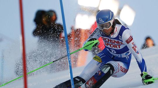21c81f419d9 Skvelá Vlhová vybojovala druhé miesto  Veľmi sa teším - Zimné športy ...