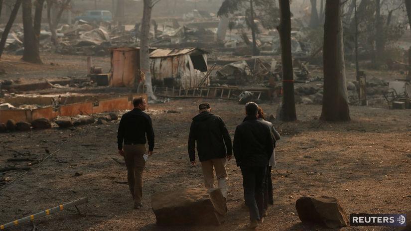 kalifornia, donald trump, usa, požiar, lesný...