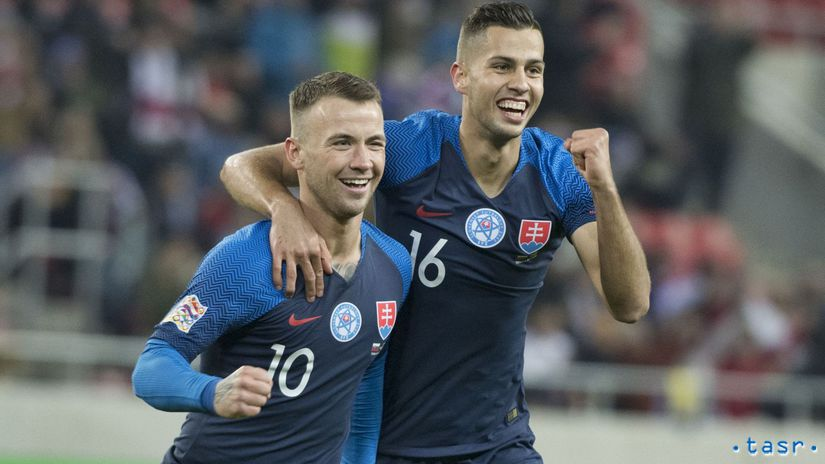 SR Futbal LN Slovensko Ukrajina TTX Rusnák