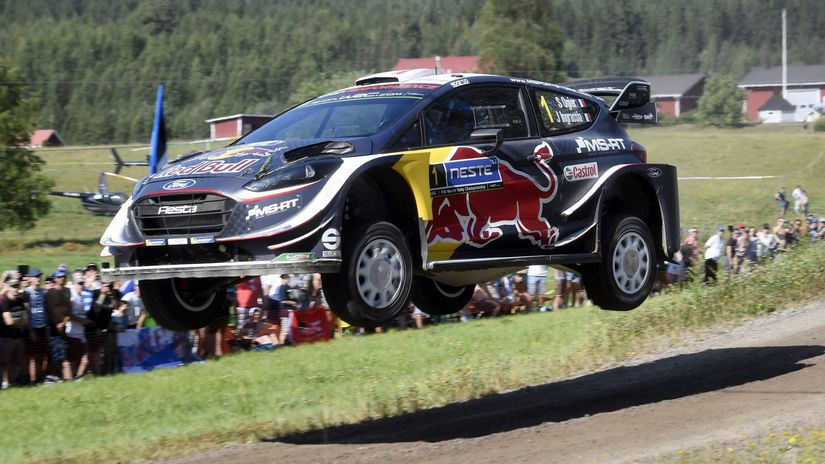 Finland WRC Rally Ogier