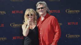 Goldie Hawn a jej životný partner Kurt Russell