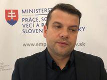 hovorca ministerstva práce Michal Stuška