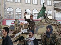 jemen, húsíovia, tank, povstalci, militanti, vojaci, zbraň