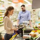 nákup, supermarket, potraviny