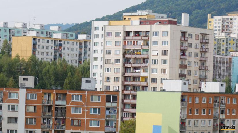 nehnutelnosť,panelák,bývanie,Banská...