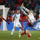 Úvodný tlak nestačil. Slováci prehrali derby a zostúpili do C-divízie