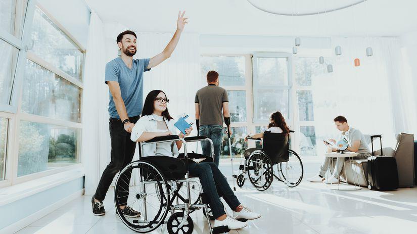 vozíčkar, invalid, žena, ťzp