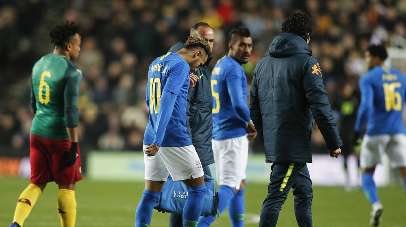 Britain Soccer Brazil Cameroon neymar