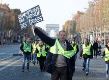 francúzsko, blokáda, protest, demonštrácia, žlté vesty