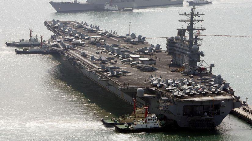 loď, uss ronald reagan