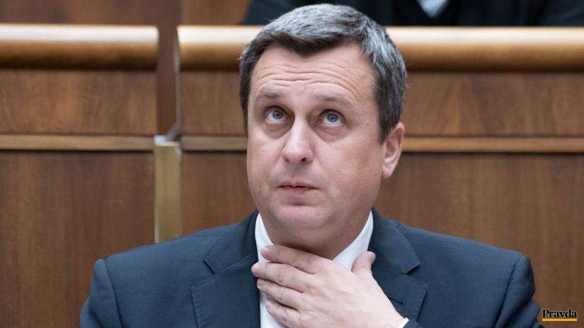 parlament, odvolávanie Danka, Andrej Danko,