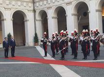 Taliansko rím peter Pellegrini giuseppe conte
