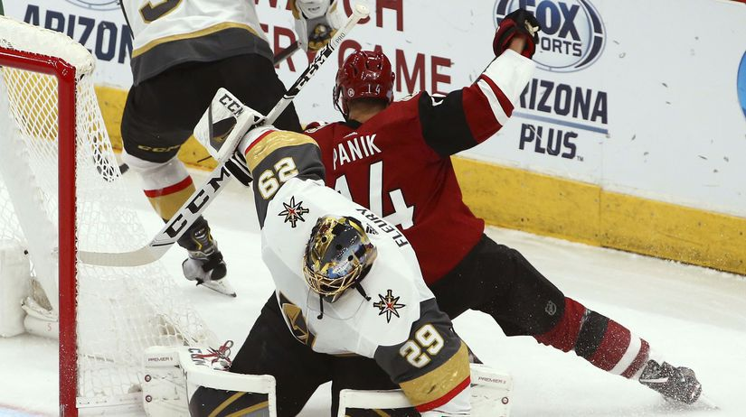 Golden Knights Coyotes Hockey pánik