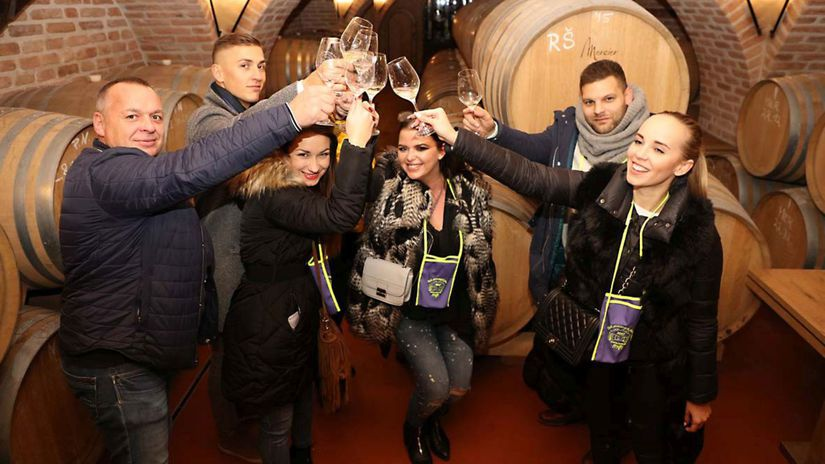 Malokarpatská vínna cesta, víno, pivnica, sudy