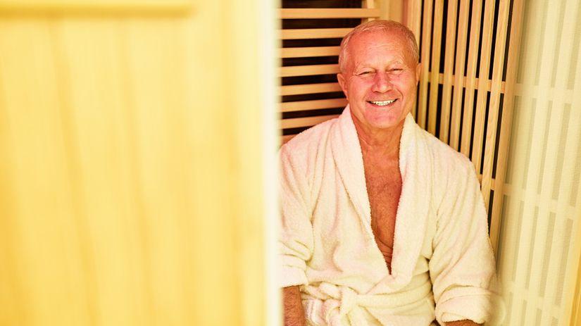 Seniori v saune, PR článok, reklama, nepoužívať
