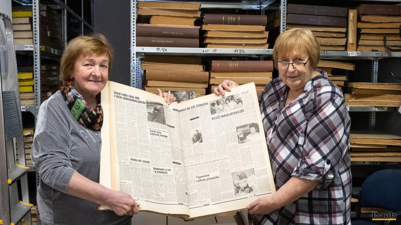 seniori, Jana Drobová, Pravda, archív, noviny
