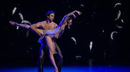Baletní umelci Nina Poláková a Roman Lazík.