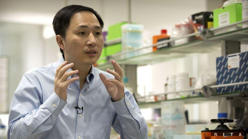 čínský vedec Che Ťien-kchuej, genetika, embryo