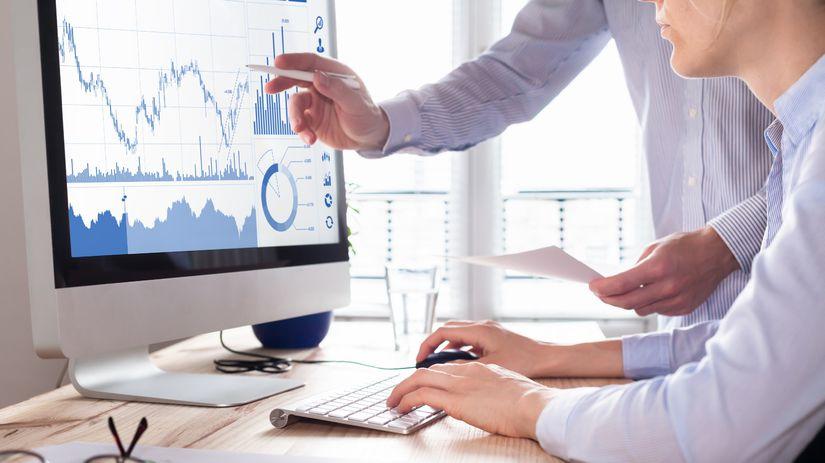investície,peniaze, práca, grafy, štatistiky,...