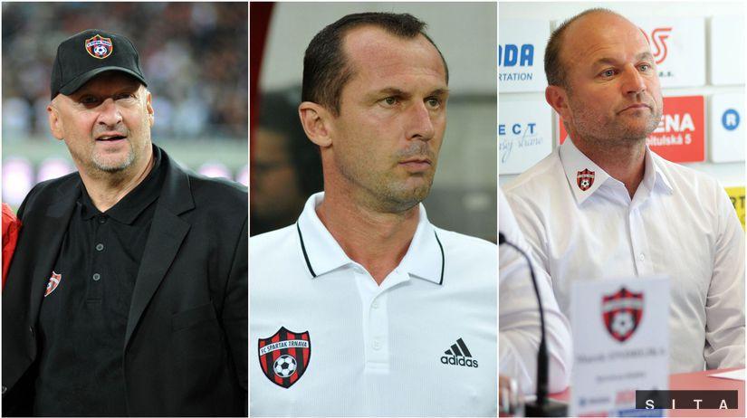 Vladimír Poór, Radoslav Látal, Pavel Hoftych