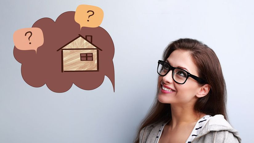 žena, investícia, nehnuteľnosť, hypotéka
