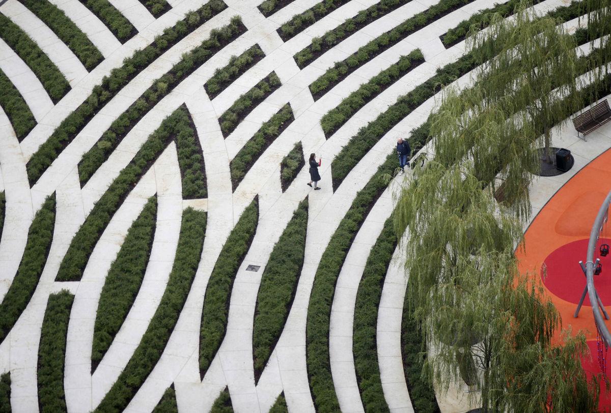 Taliansko, stromy, záhrada