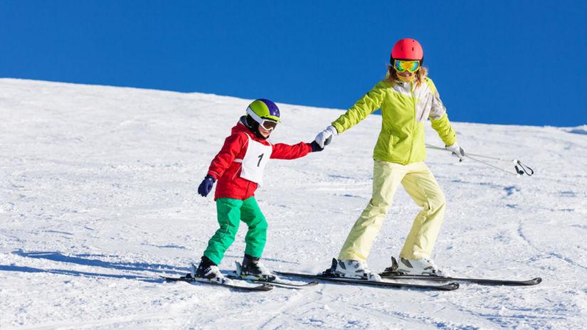 lyžovanie, lyžovačka, lyžiari, zima, sneh,...