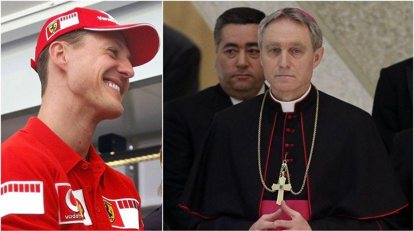 Georga Gänswein, Michael Schumacher