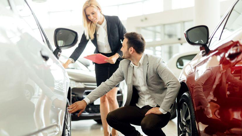 registrácie nových áut