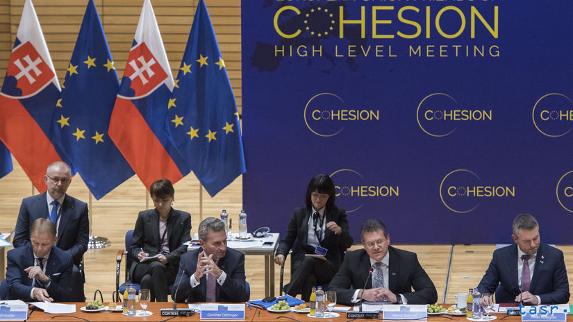 SR Bratislava EÚ EIB EK Priatelia kohézie...