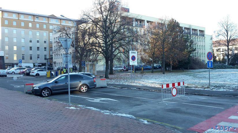SR Poprad barikády cesta mesto vlastník spor POX