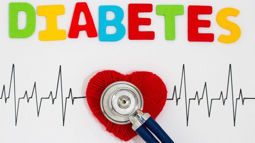 cukrovka, srdce, diabetes