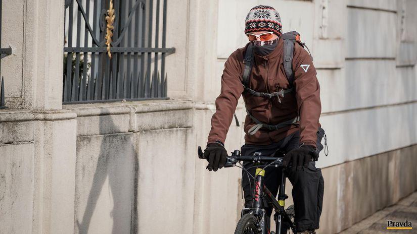 pocasie, cyklista