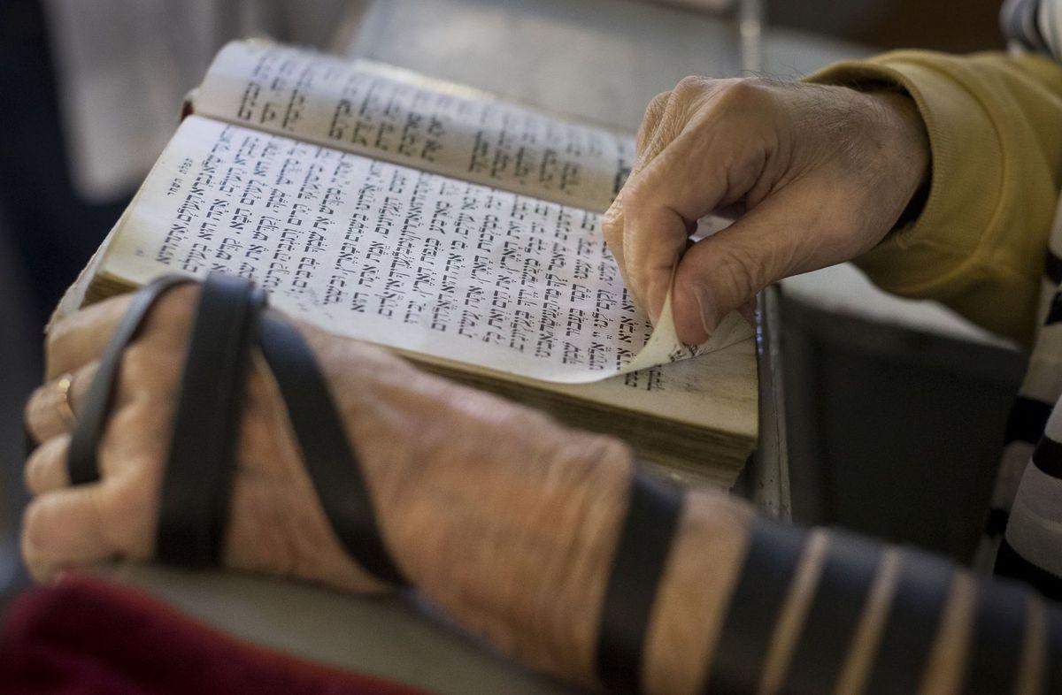 Litva, Žid, modlitba