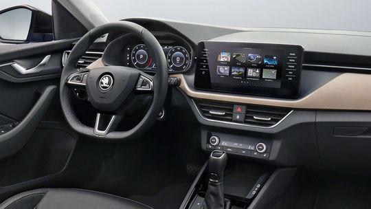 Škoda Scala: 'Český Golf' ukázal interiér. Debutuje s novým konceptom
