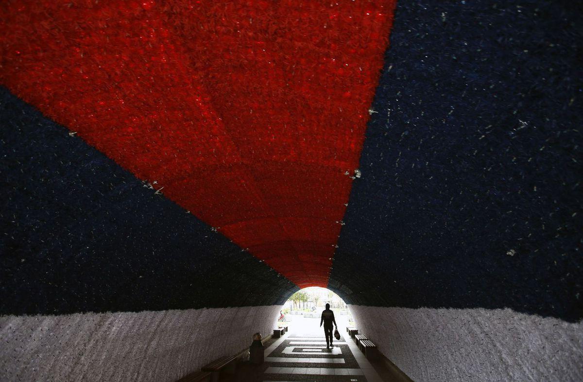 Srbsko, tunel,
