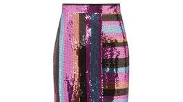 Sukna Dámska trblietavá sukňa F&F, predáva sa vo vybraných obchodoch.