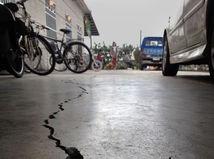 Epicentrum, zemetrasenie, prasklina, Taiwan