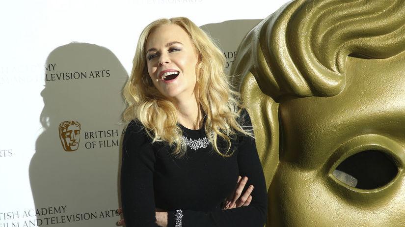 Herečka Nicole Kidman na archívnom zábere.