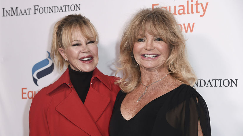 Melanie Griffith a Goldie Hawn