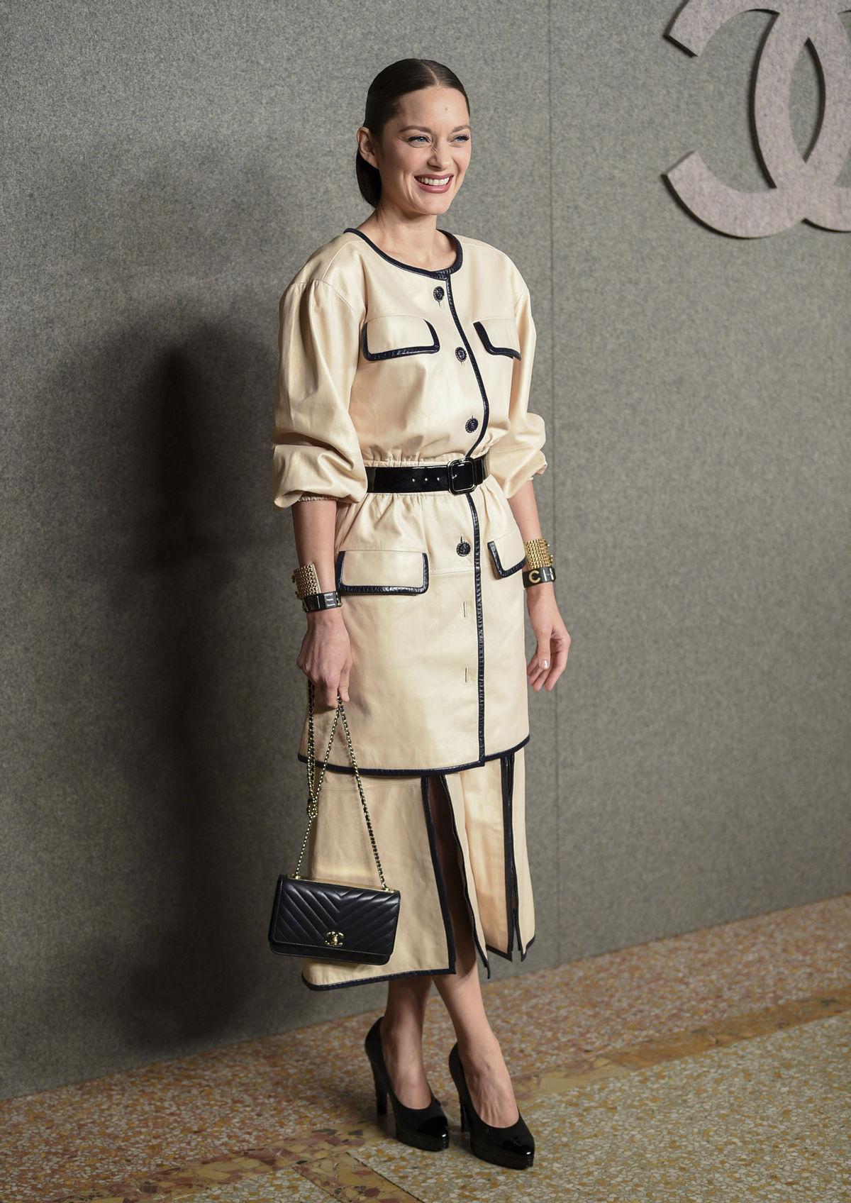 Francúzska herečka Marion Cotillard na...