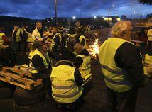 francúzsko, protest, žlté vesty