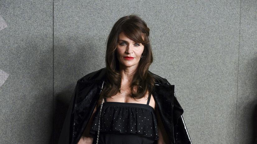 Modelka Helena Christensen.